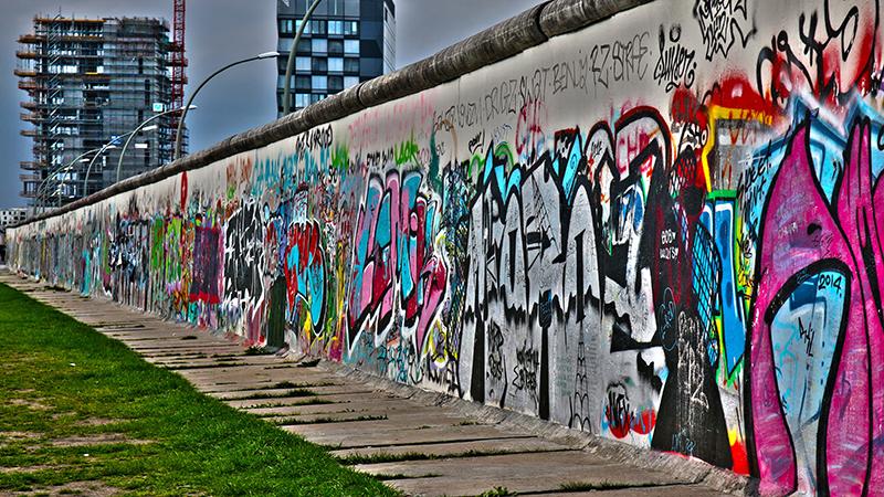 Berlin - 30 år efter murens fall