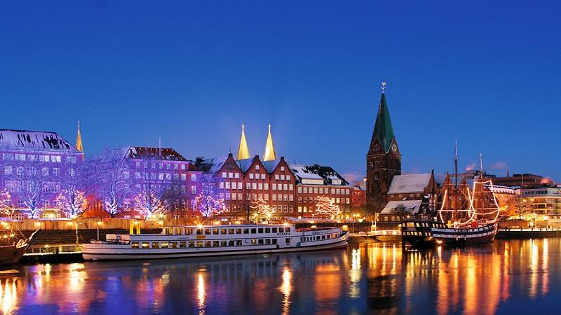 Julmarknad i Bremen