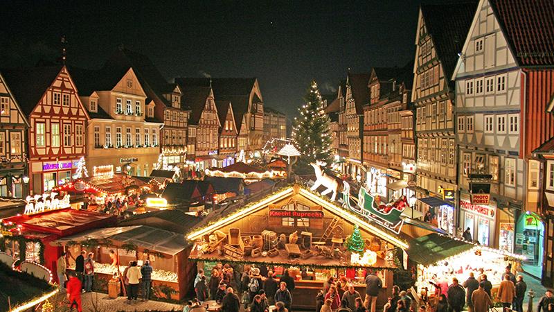 Julmarknad i Celle