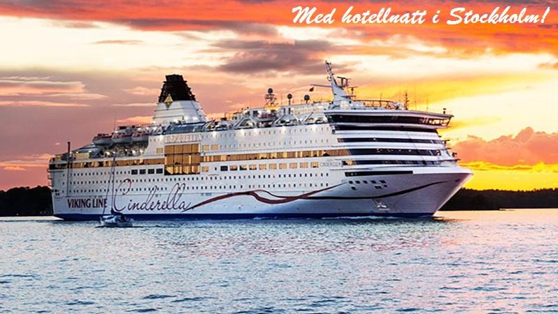 Stockholm & Kryssning till Mariehamn