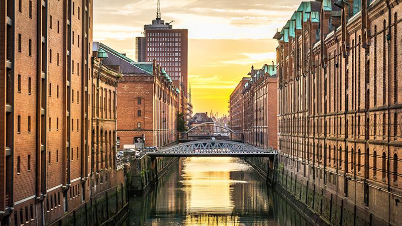 Förtrollande Hamburg