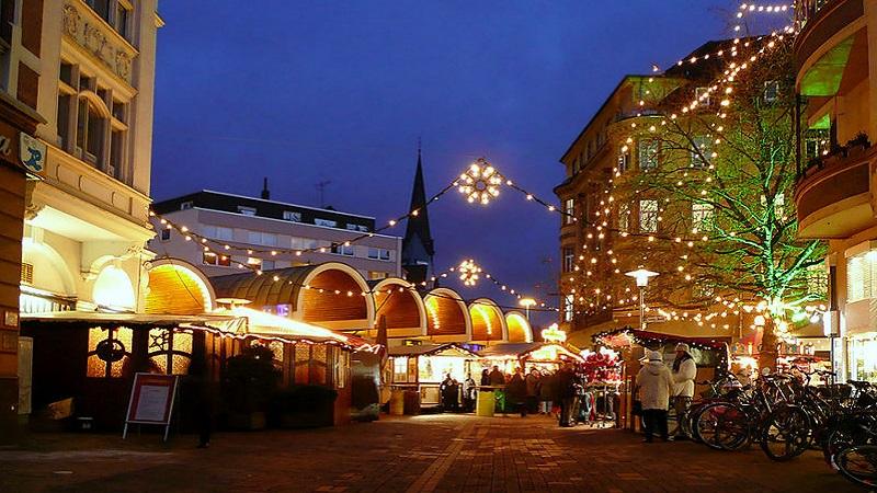 3 julmarknader i 1 -Hildesheim, Hannover & Braunschweig