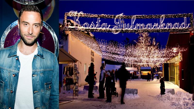Kosta -Invigning av julmarknaden & julhyttsill