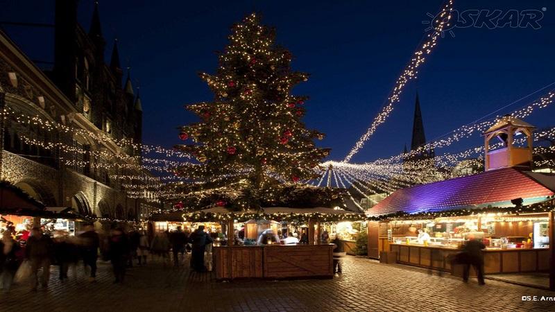 Timmendorferstrand & julmarknad i Lübeck