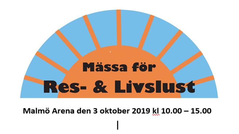 MALMÖ ARENA -Res & Livslust Mässa