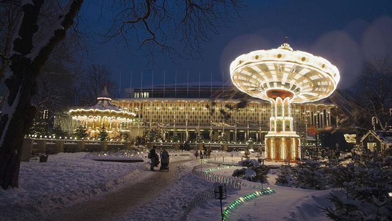 Köpenhamn i vinterskrud