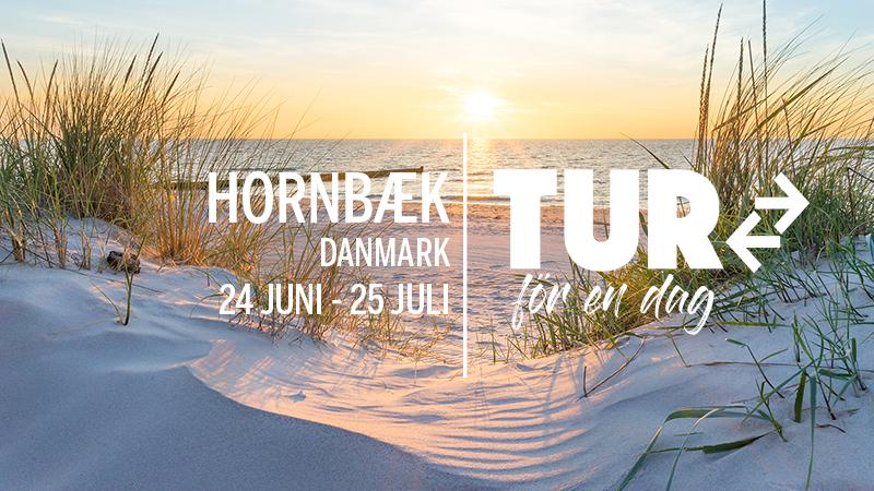 TUR för en dag - HORNBÆK i Sommarskrud